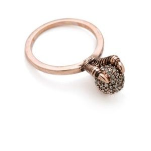 House of Harlow gold talon ring size 8